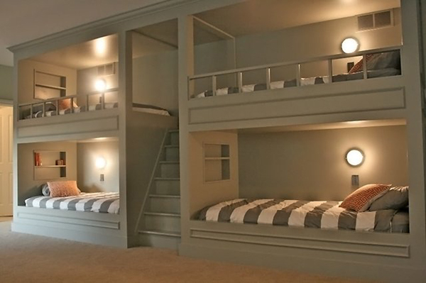 quad bunk ideas bespoke bunk beds. Black Bedroom Furniture Sets. Home Design Ideas