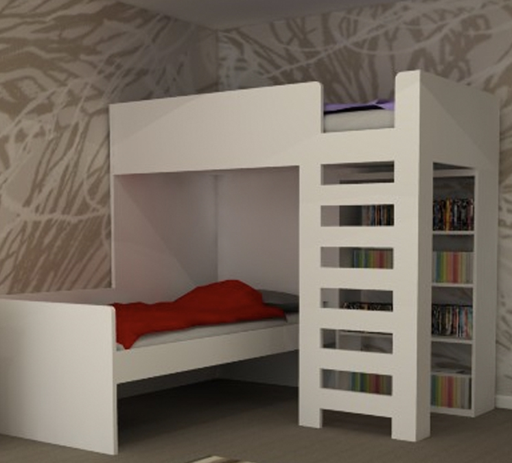 Bunk bed ideas bespoke bunk beds for Bunk bed ideas