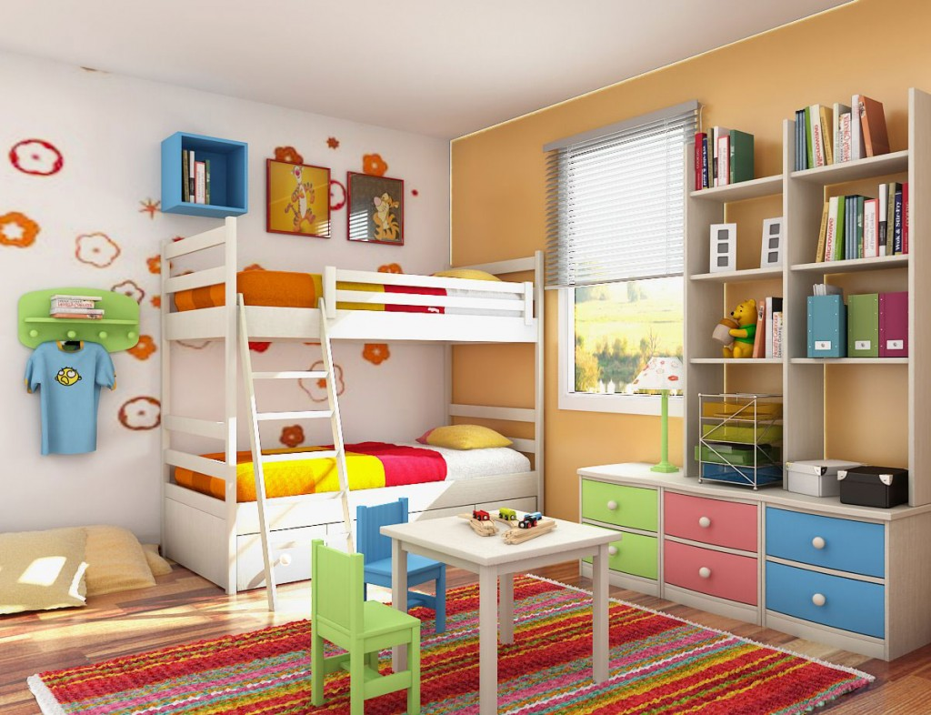 Bespoke bunk beds bespoke built platforms bunkbeds for Futon kids room
